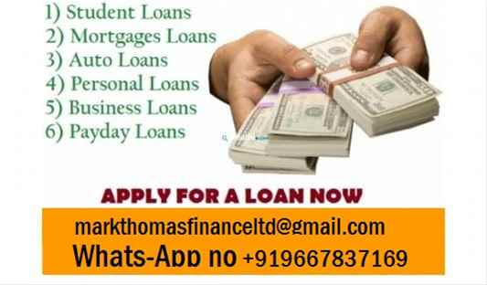 DO YOU NEED AN URGENT LOAN TO SOLVE YOUR FINANCIAL NEEDS
